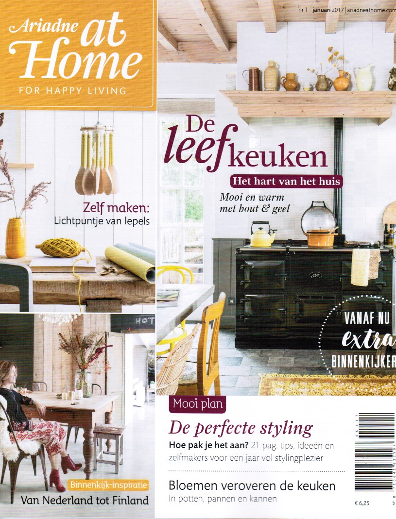 Wachtkamerpakket for Magazine ariadne at home